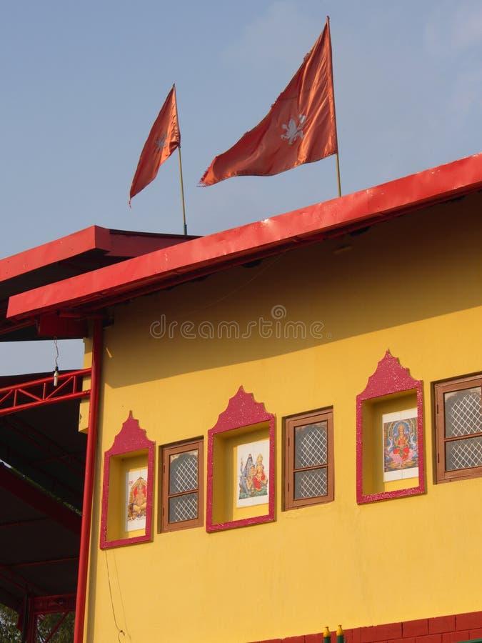 Rumtek Monastery near Gangtok. Sikkim, India, 2013 April 14th stock photo