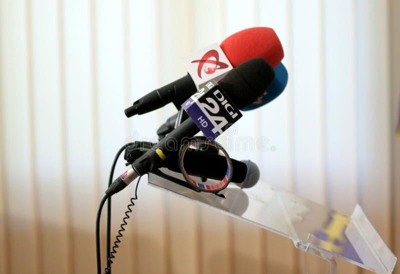 Rumuńscy środki - TV fotografia royalty free