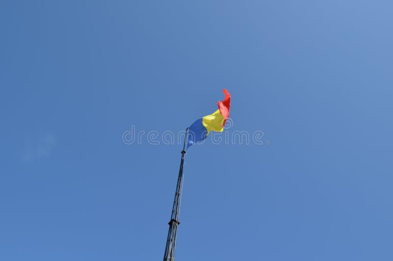 Rumuńska flaga obraz royalty free
