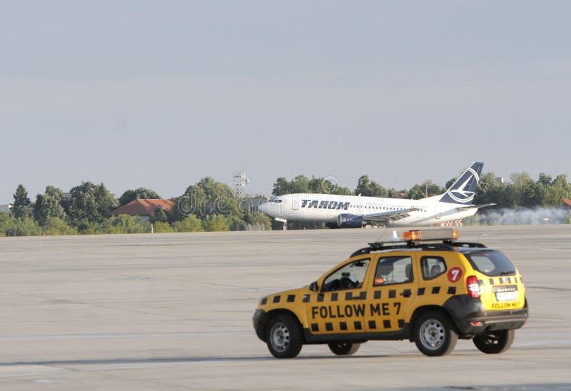 Rumuńska krajowa linia lotnicza Tara, Aerobus A310 obraz royalty free
