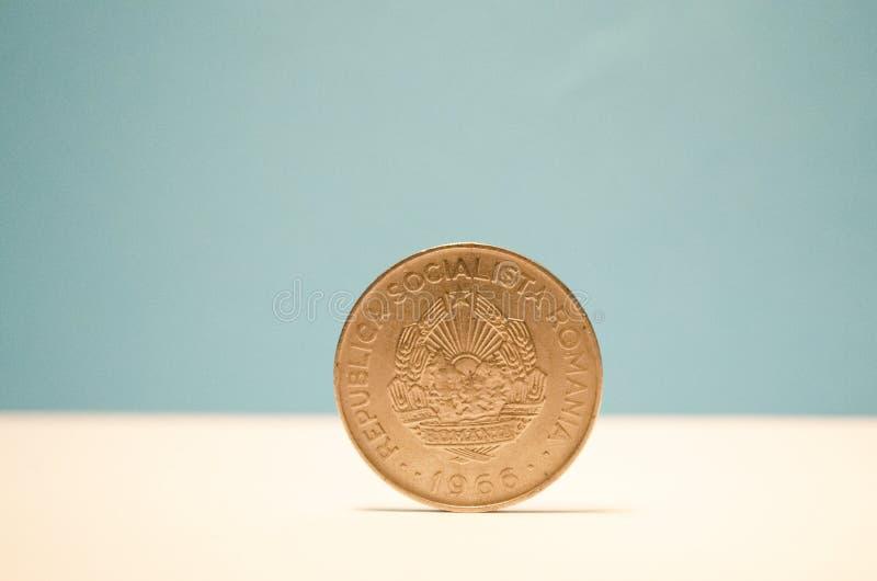 Rumuńska moneta zdjęcia royalty free