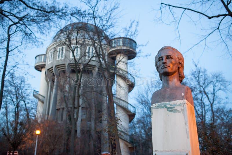 Rumuńska poeta Mihai Eminescu zdjęcie royalty free