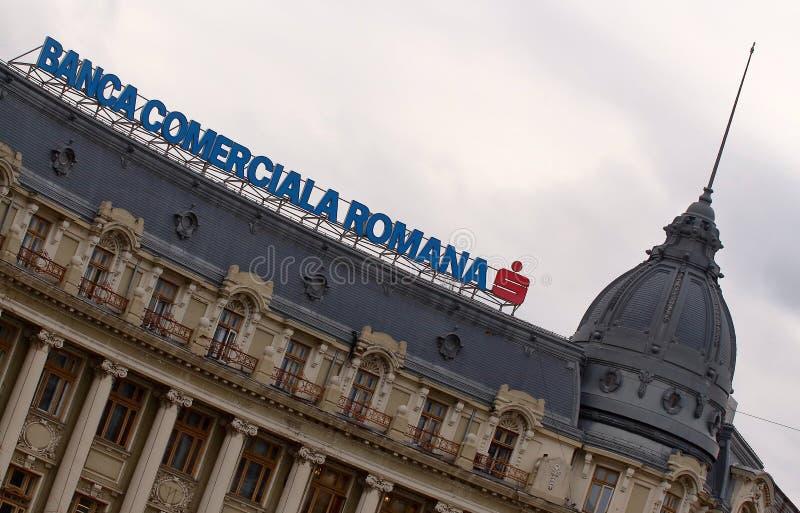 Rumuński Commercial Bank, Bucharest -, Rumunia fotografia royalty free