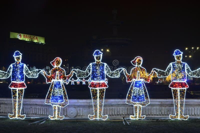 Rumuński taniec, Union Square fotografia stock