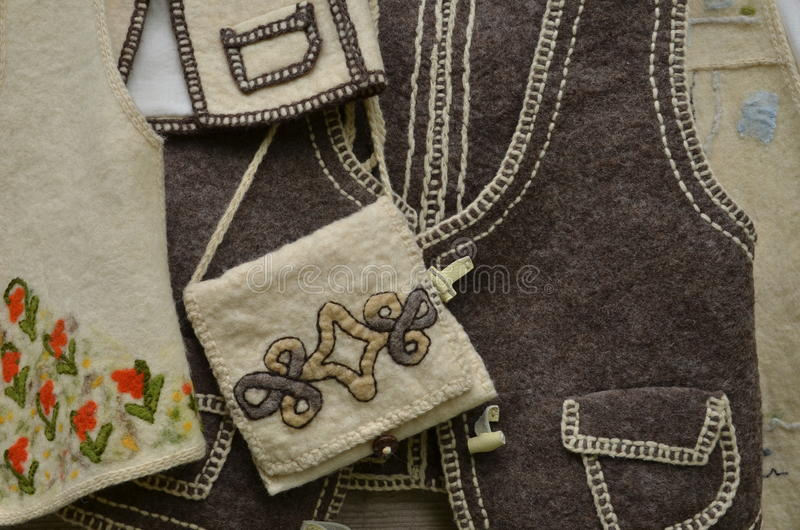 Rumuński Tradycyjny Odziewa obraz stock