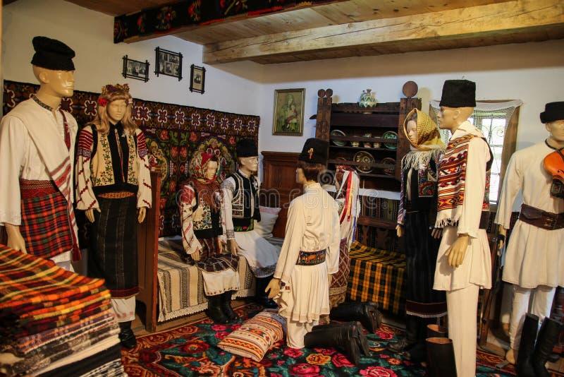 Rumuńskie Popularne tradycje - Poślubiać scenę fotografia royalty free