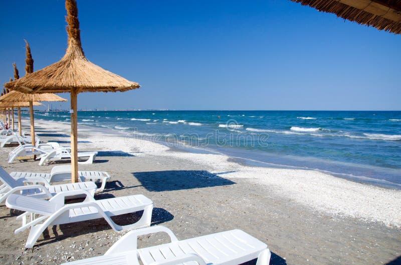Rumunia - Czarny morze fotografia stock
