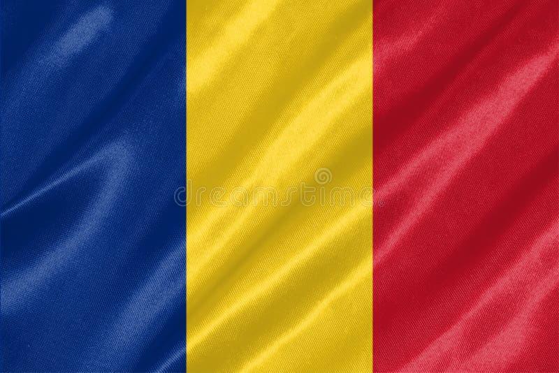 Rumunia flaga royalty ilustracja
