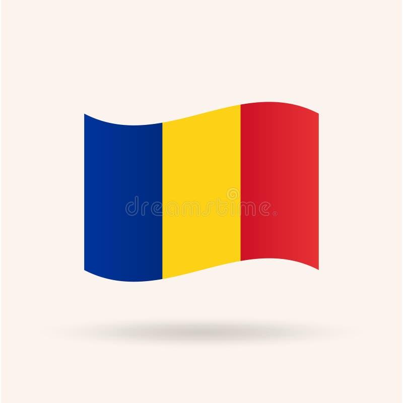 Rumunia flaga ilustracji