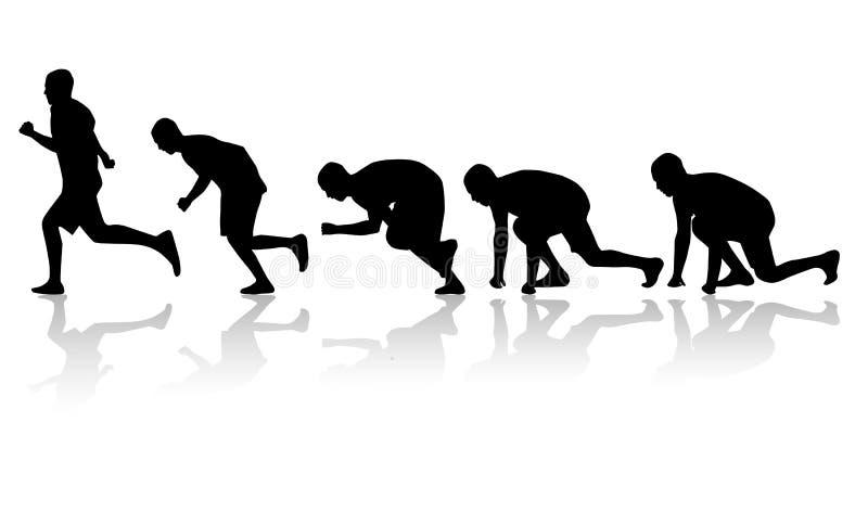 Download Run stock illustration. Image of jogging, jogger, action - 2662146
