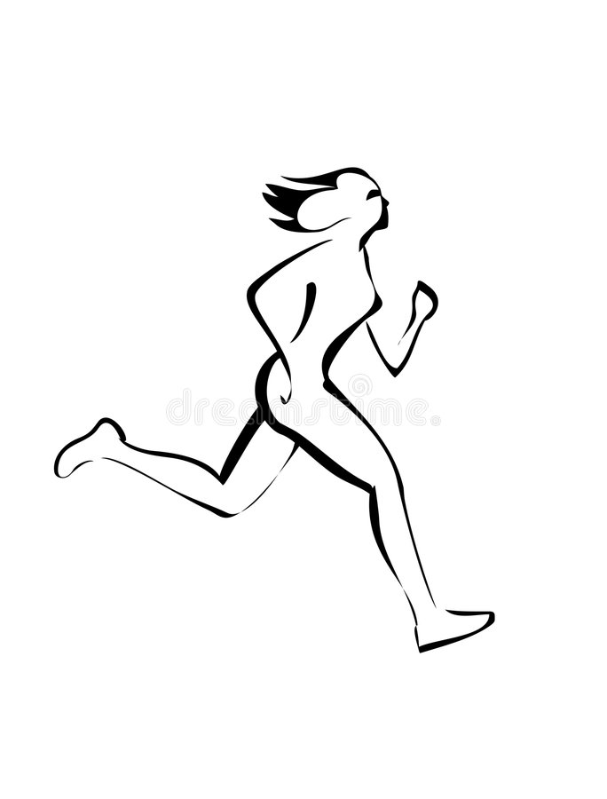 Download Run stock vector. Illustration of body, running, pursuit - 9187951