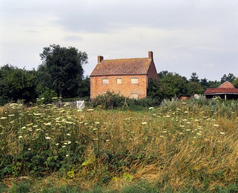 Run down farmhouse royalty free stock photos