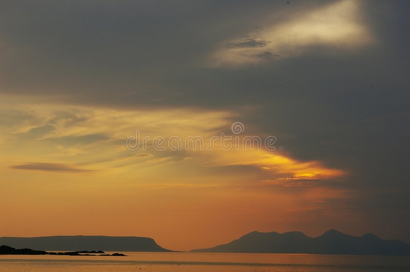 Download Run And Eigg, Scotland Stock Images - Image: 5462484