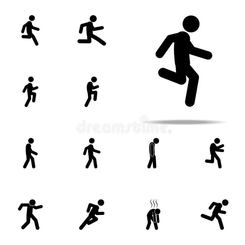 Walking Fast Clip Art
