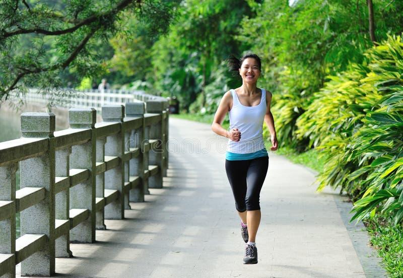 Download Run in garden stock image. Image of exercising, adult - 28088533