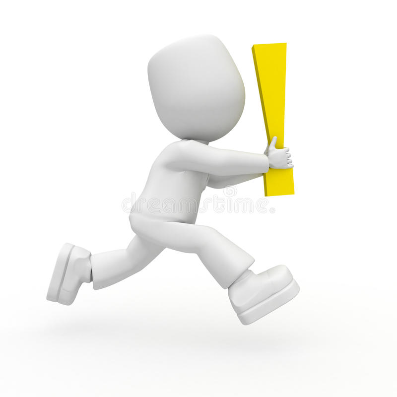 Download Run it is important stock illustration. Image of mark - 12841310
