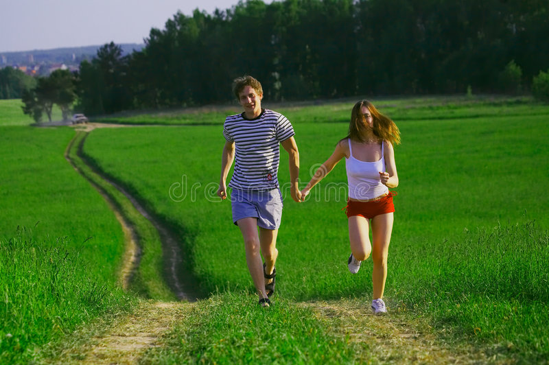Download Run With Love Royalty Free Stock Photo - Image: 3011135