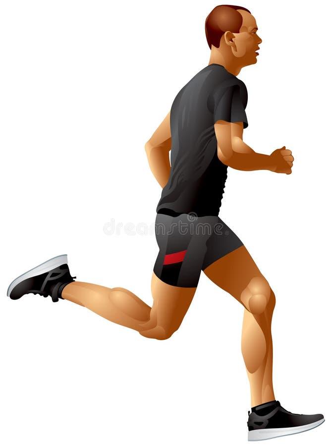 Run, Runner, Running Sprinter sportsman vector illustration