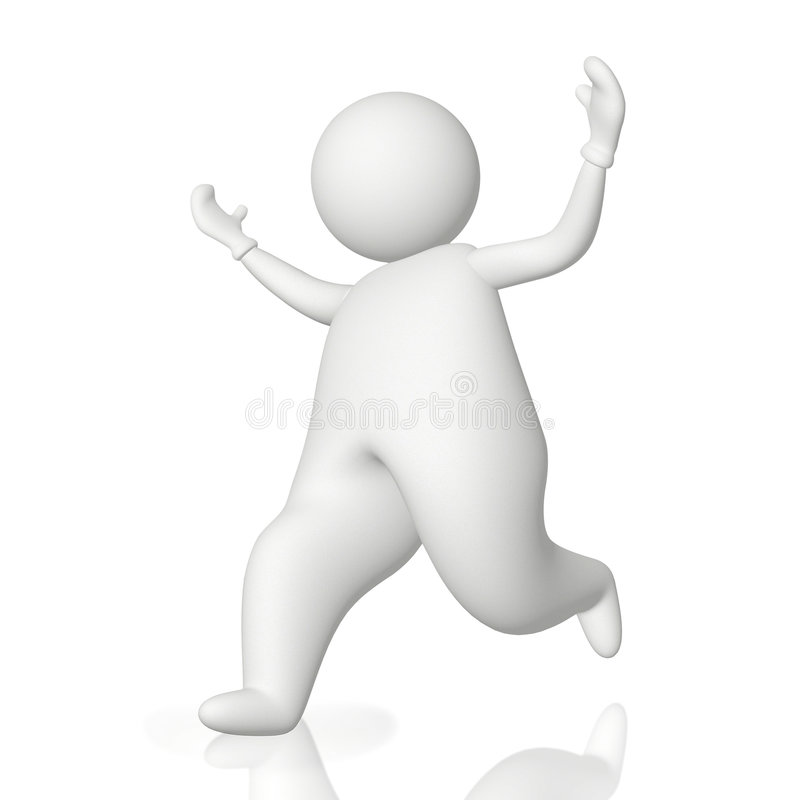 Download Run for success stock illustration. Image of forward, concept - 8840092