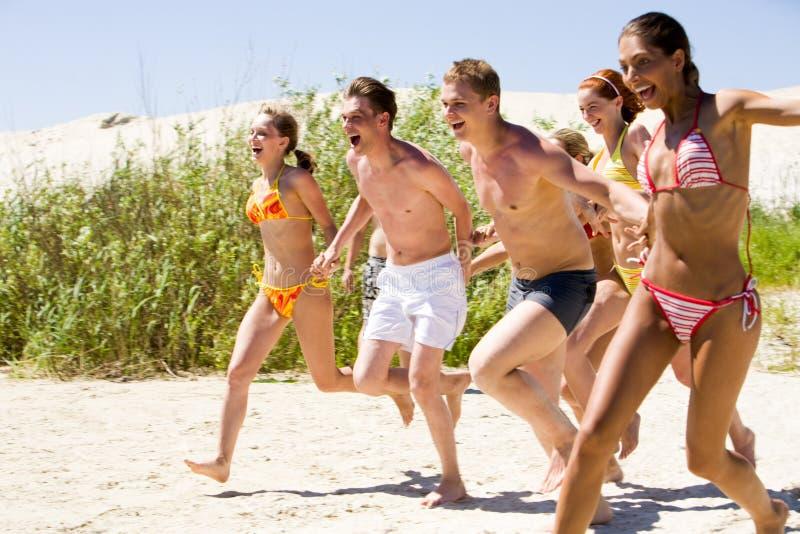 Download Run into water stock image. Image of summer, beach, enjoying - 9000093