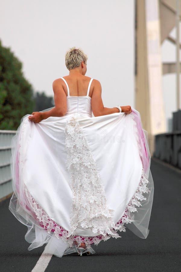 Download Runaway bride stock photo. Image of photoshoot, dressed - 15552004