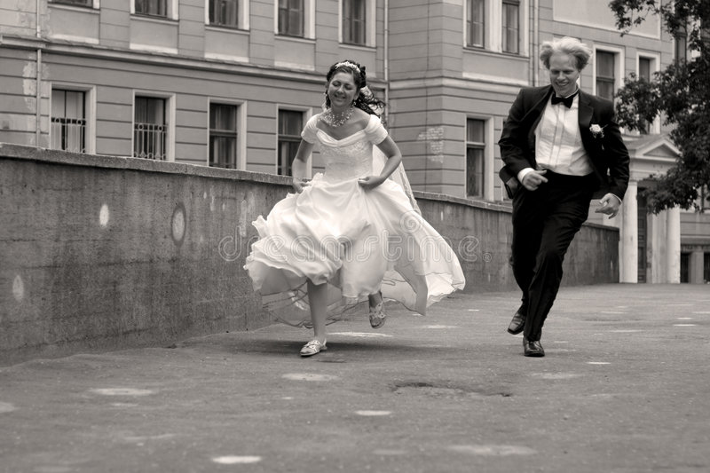 Download Runaway Couple Stock Photos - Image: 3559343