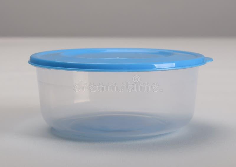 rund behållareplast- royaltyfria foton