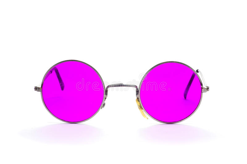 Rund-gestaltete Gläser lizenzfreie stockfotos