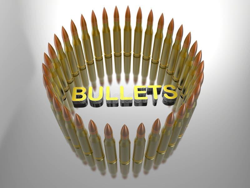 Rund modellbakgrund för kulor stock illustrationer