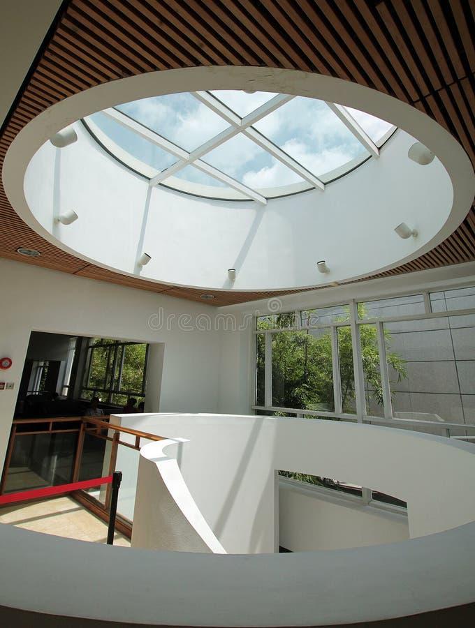 rund takfönster arkivfoton