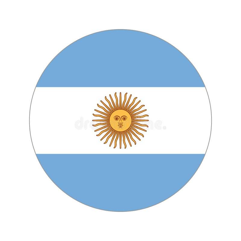 Rund världsflagga stock illustrationer
