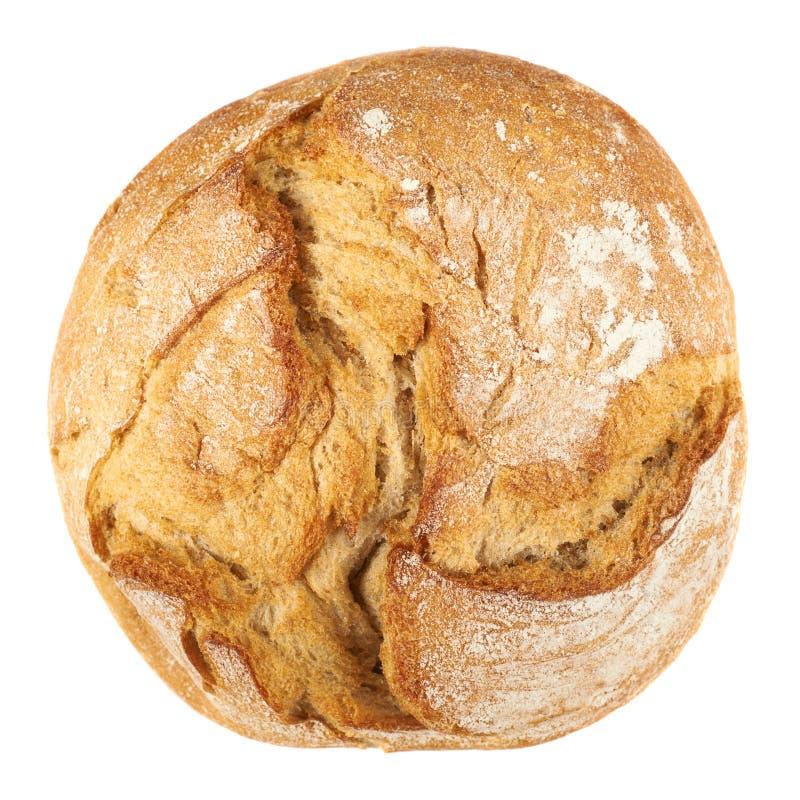 runda bochenek chleba zdjęcie stock
