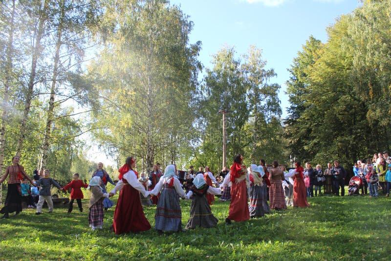 runda tańca zdjęcie stock