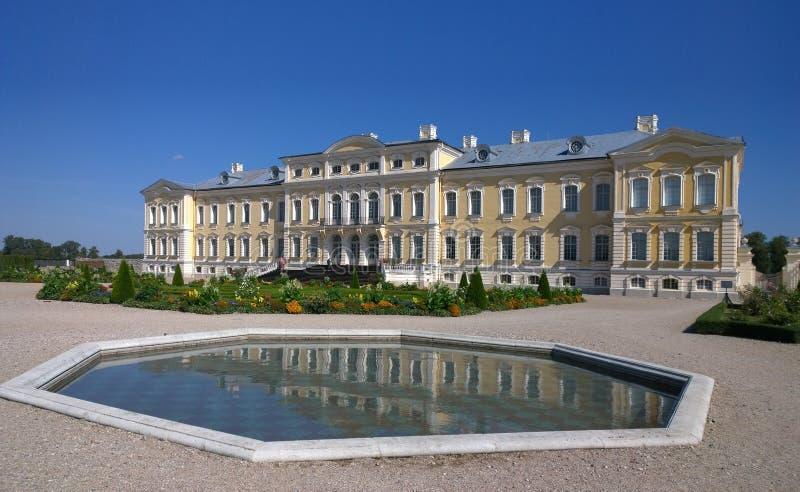 Rundale Castle Latvia. Rundale Museum.  stock images