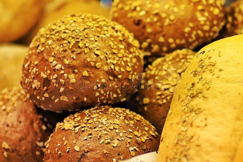 Rundat bröd arkivbilder