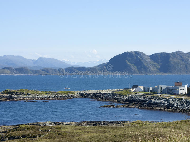 Runde, Norway stock images