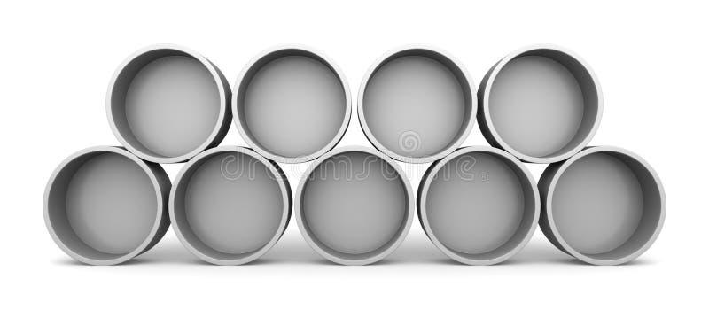 Runde Regale runde regale stock abbildung illustration weiß getrennt 12465184