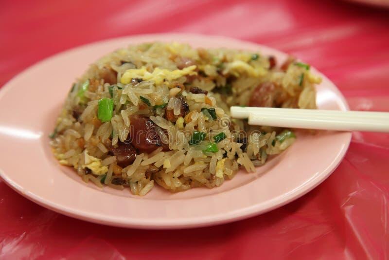 Runder gebratener Reis lizenzfreies stockbild