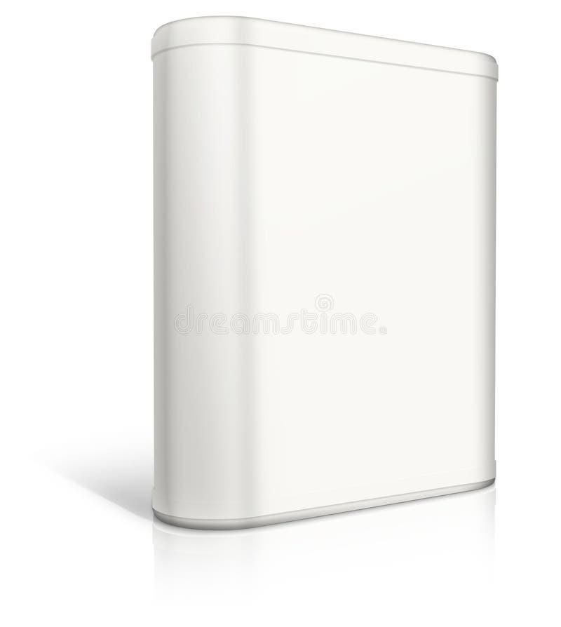 Runder Kasten. Software-Kasten lizenzfreie abbildung