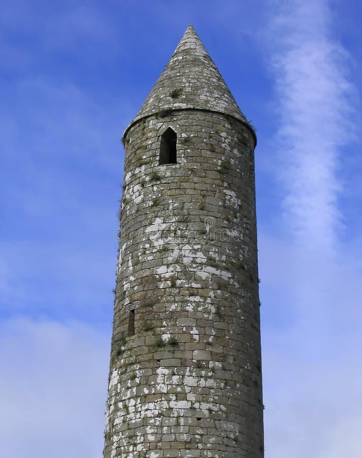 Runder Kontrollturm, Irland lizenzfreie stockbilder