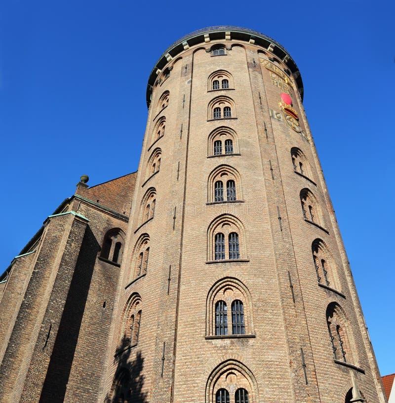 Runder Turm lizenzfreie stockbilder