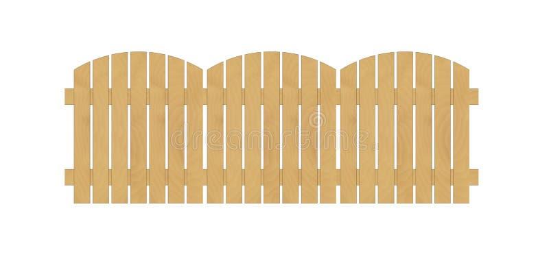Runder Zaun vektor abbildung