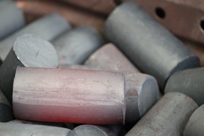 Rundes Billet des Metalls stockfoto