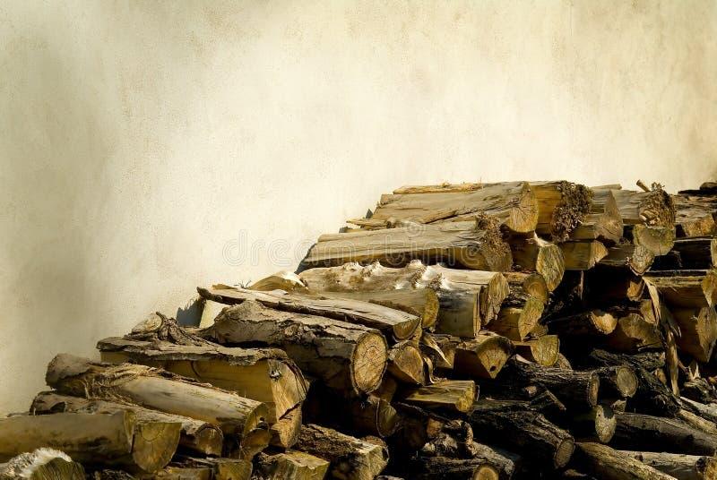 Rundes Holz stockfotografie