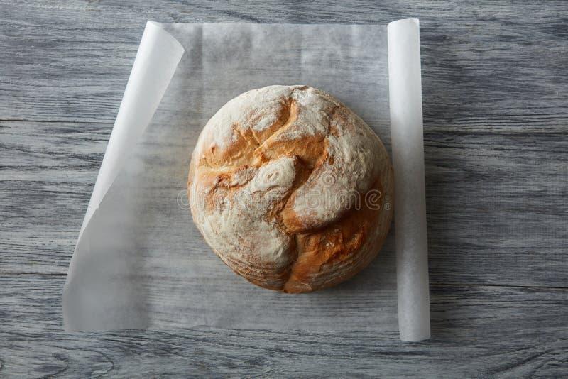 Rundes Laib des Brotes lizenzfreies stockfoto