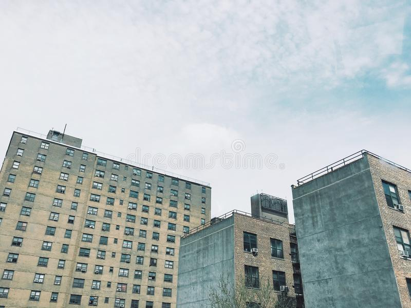 Rundown Housing Projects stock photography