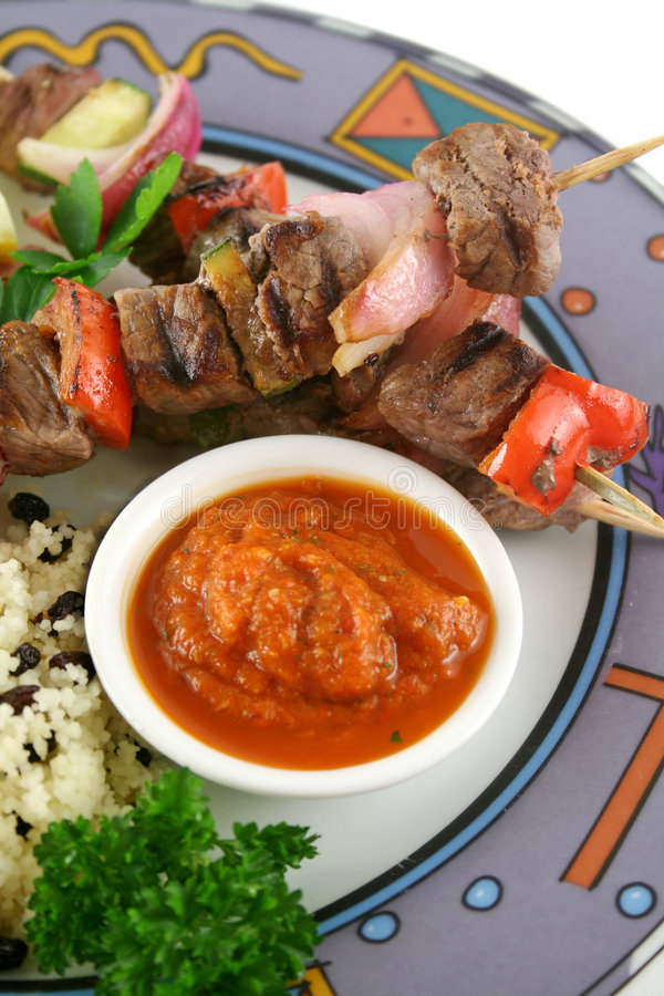 Rundvlees Kababs 10 stock afbeeldingen