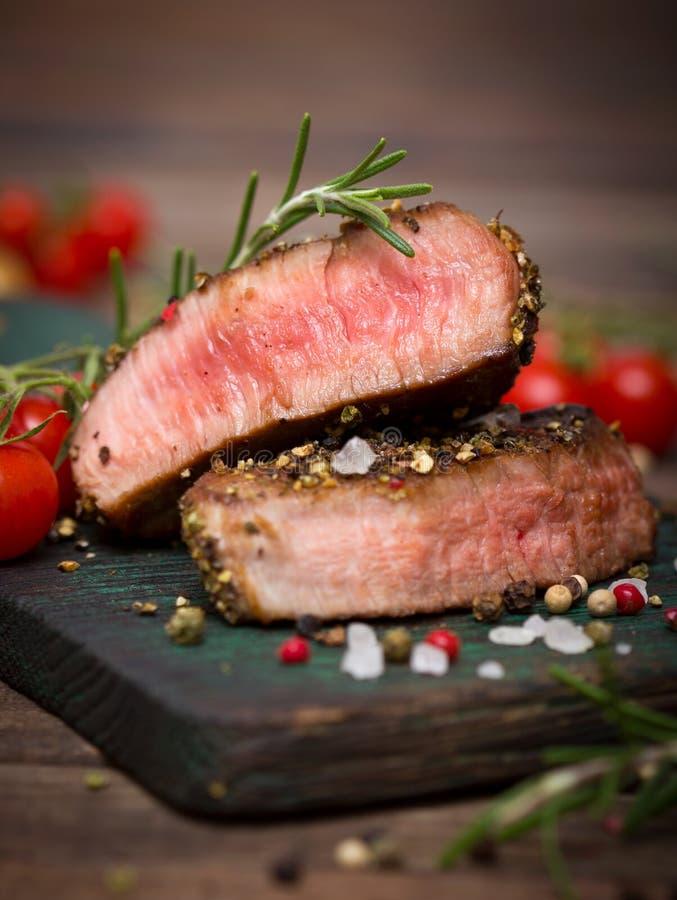 Rundvleeslapje vlees royalty-vrije stock afbeelding