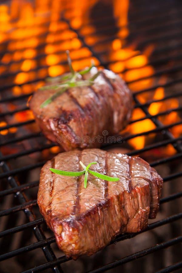 Rundvleeslapjes vlees royalty-vrije stock afbeeldingen