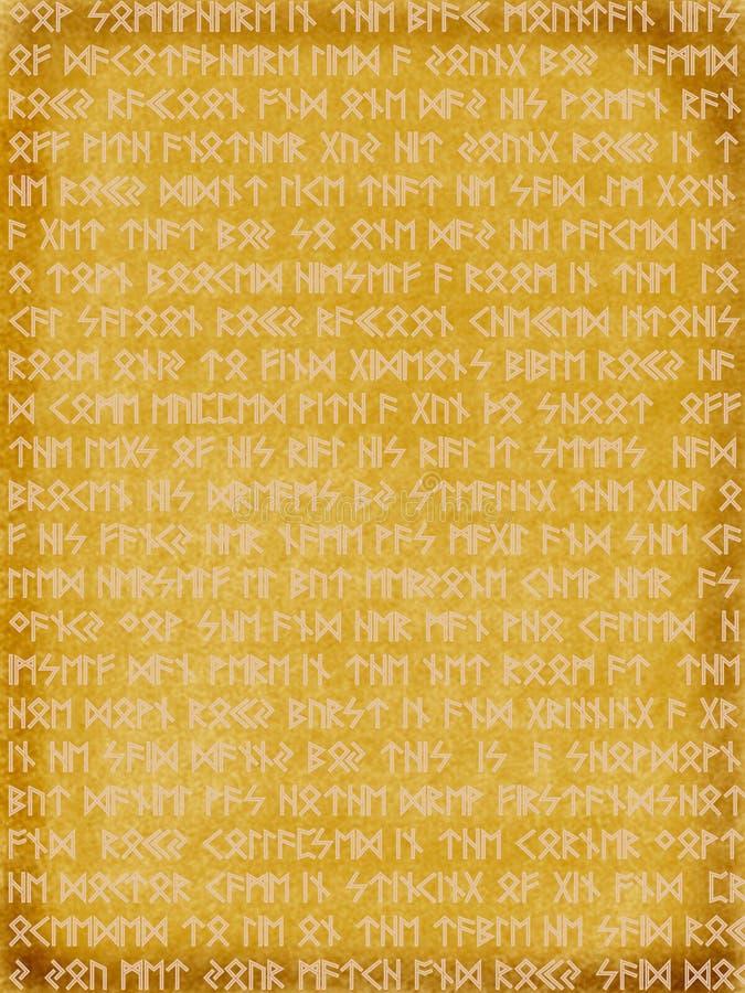 Rune illustrazione vettoriale